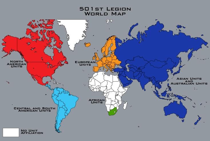 australian map of world